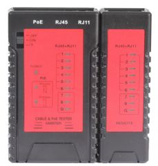 TENMA 72-2950  Network Cable Tester With Poe
